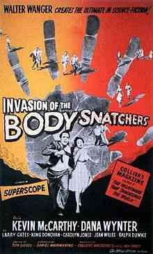 Film1956 InvasionOfTheBodySnatchers OriginalPoster Top filmes de sobreviventes pós apocalípiticos
