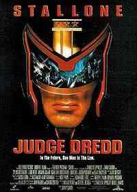 Judge Dredd filme poster Top filmes de sobreviventes pós apocalípiticos