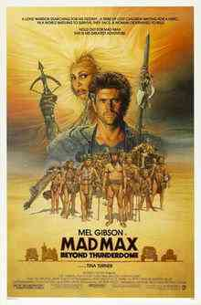 Mad max beyond thunderdome 1 Top filmes de sobreviventes pós apocalípiticos