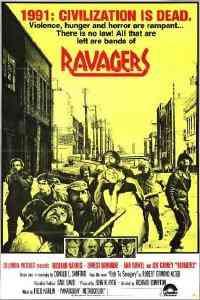 The Ravagers 1979 film poster Top filmes de sobreviventes pós apocalípiticos