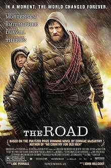 The Road movie poster Top filmes de sobreviventes pós apocalípiticos