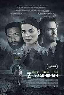 Z for Zachariah poster Top filmes de sobreviventes pós apocalípiticos