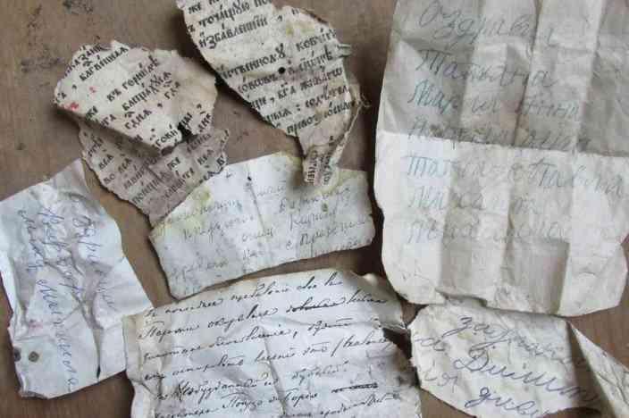 nests02 704x468 Pássaros salvaram séculos documentos antigos em seus ninhos