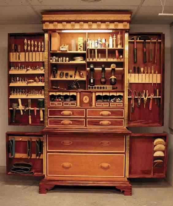 0b35463a1cf4823070e056b992f0cad1 Vinte armários para artistas, colecionadores e modelistas