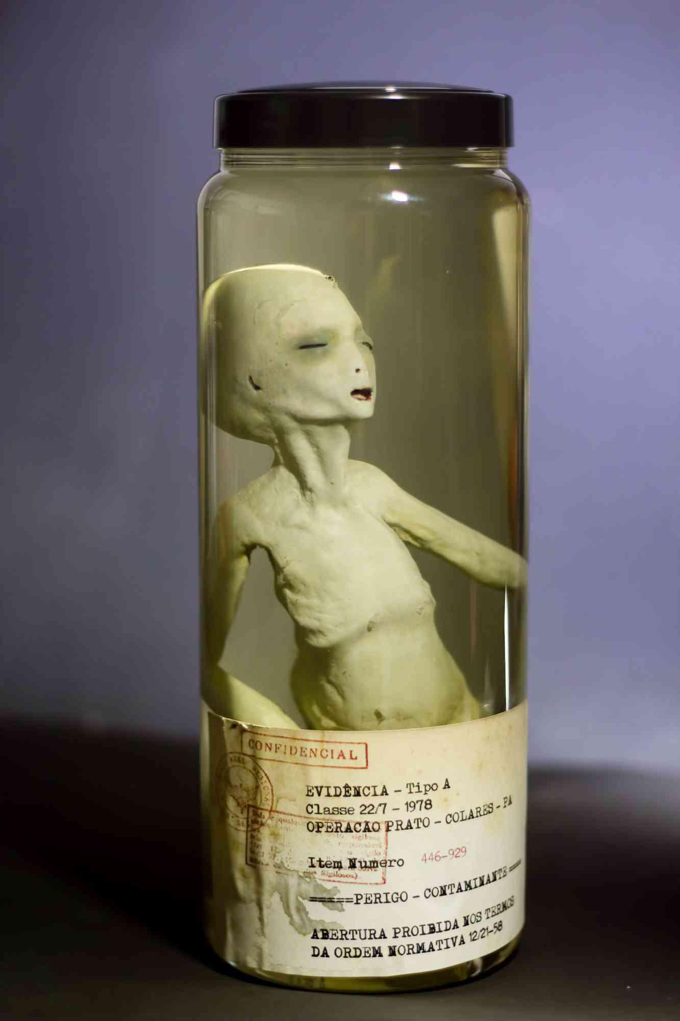 alien no pote 5 Feto alien no tubo