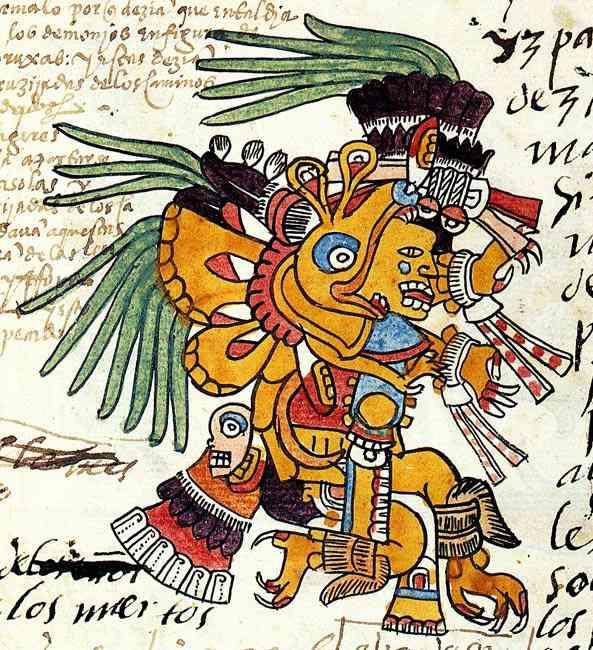 Aztec Plumed Serpent Quetzzalcoatl O mistério da Virgem de Guadalupe
