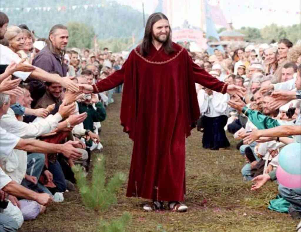 JESUS 1024x789 O Jesus finalmente voltou? Na Russia? Veja mais um (entre muitos) pirados