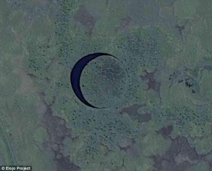 ilha1 O olho   O mistério da ilha redonda na Argentina