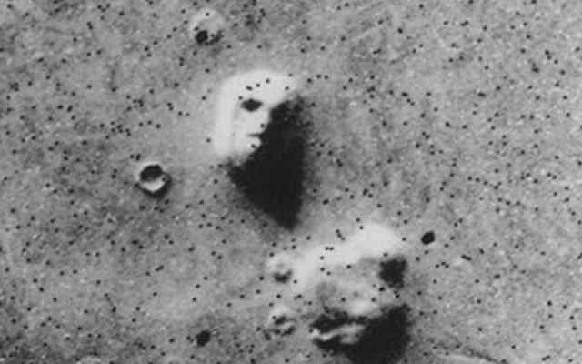 O rosto marciano foi uma das pareidolias que mais gerou confusão na história