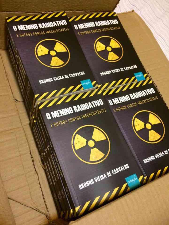 radioativo Sorteio do livro: O menino Radioativo e outros contos inacreditáveis