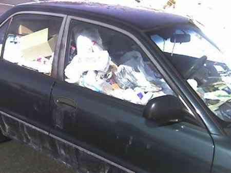 12 Carro sujo: Você não vai acreditar no grau de imundície desse carro!