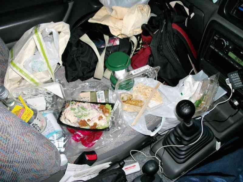 130491200800016402270 DSCF0311 Carro sujo: Você não vai acreditar no grau de imundície desse carro!