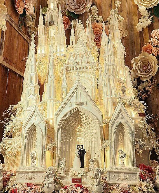 bolcasametaco Os mais incríveis bolos de casamento da Indonésia