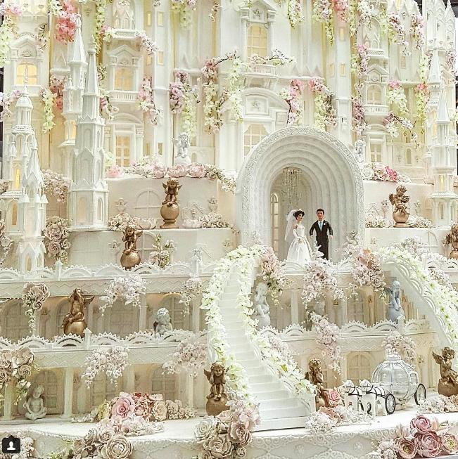 bolocasa Os mais incríveis bolos de casamento da Indonésia