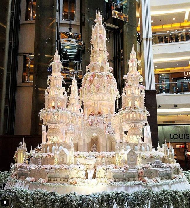 bolodecasamento Os mais incríveis bolos de casamento da Indonésia