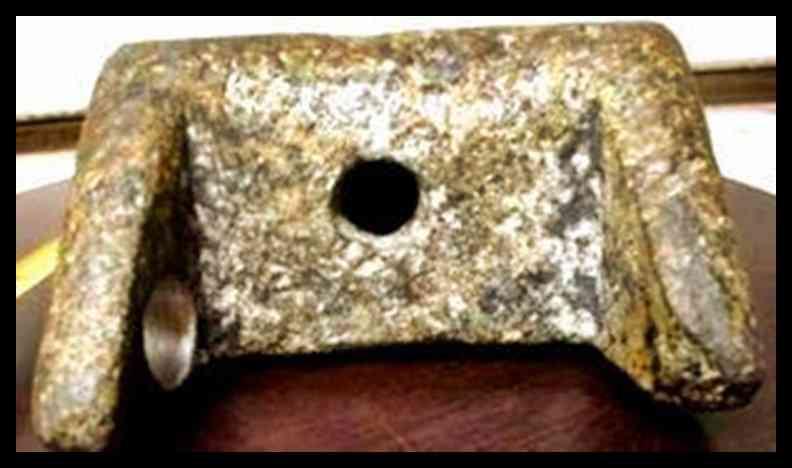 cunha de alumínio de Aiud romenia 1 A misteriosa cunha: Será uma evidência extraterrestre?