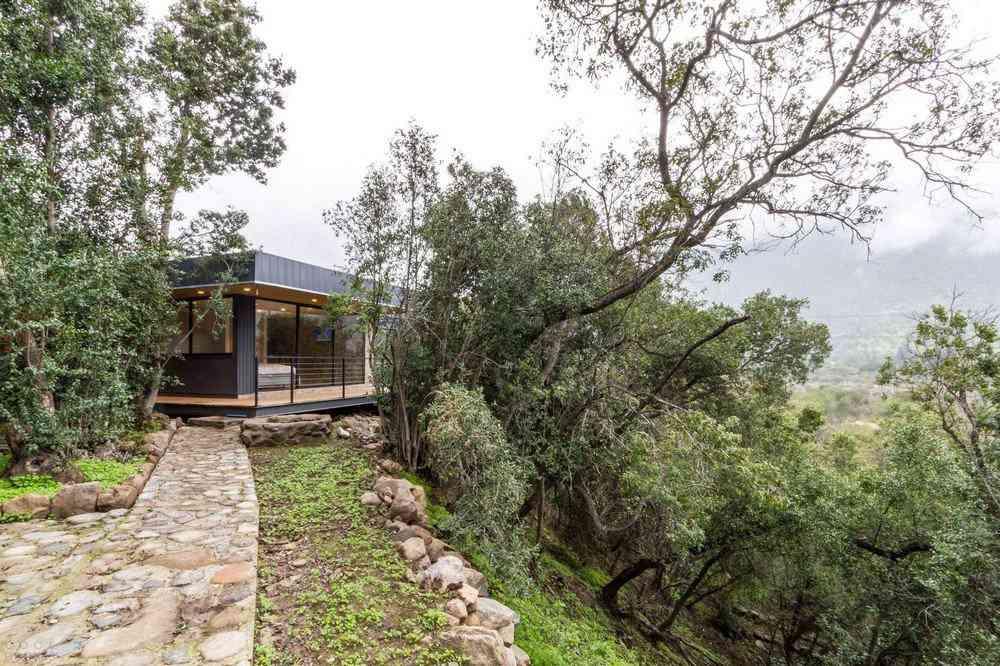 0 1da3e0 14bc7e69 orig Uma bela casa nas montanhas do Chile