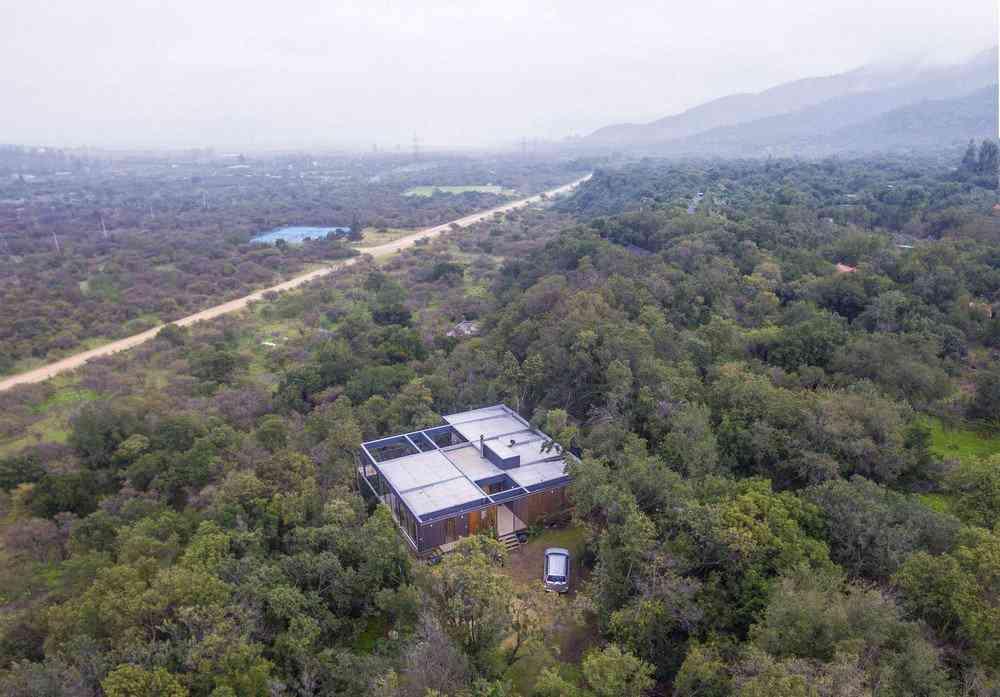 0 1da3e5 8befc172 orig Uma bela casa nas montanhas do Chile