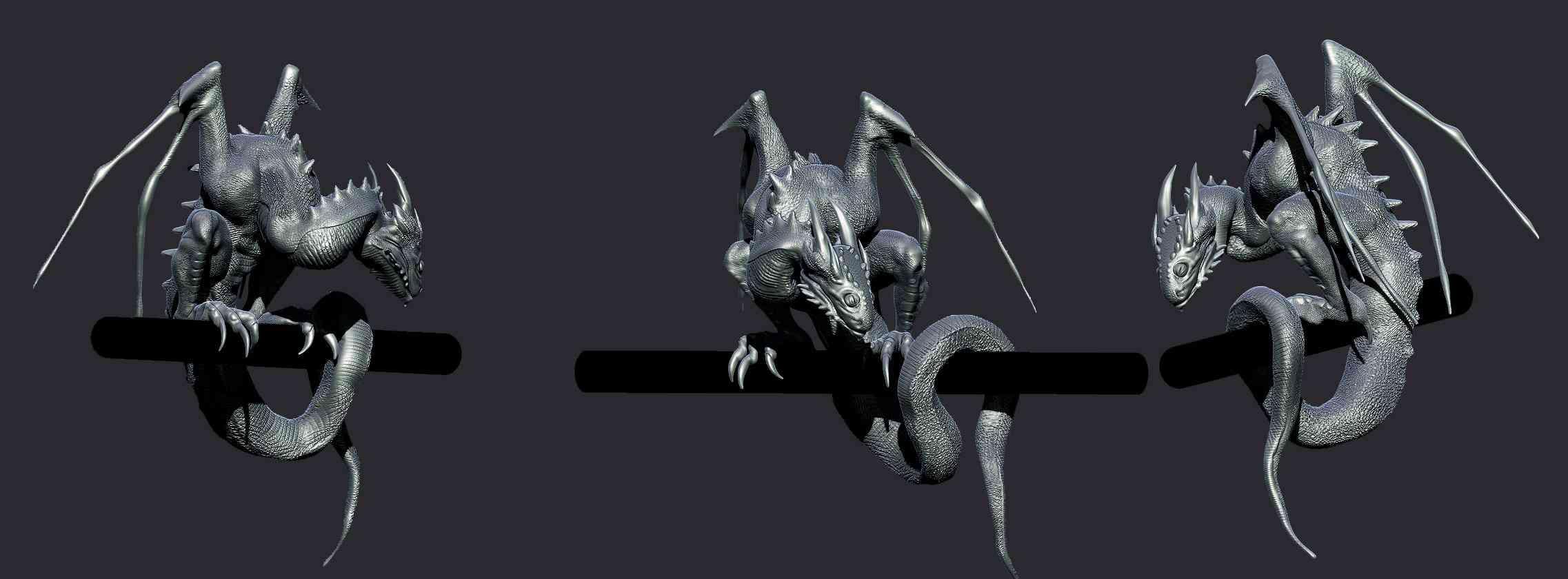 DGp1 Angelus   O filhote de dragão