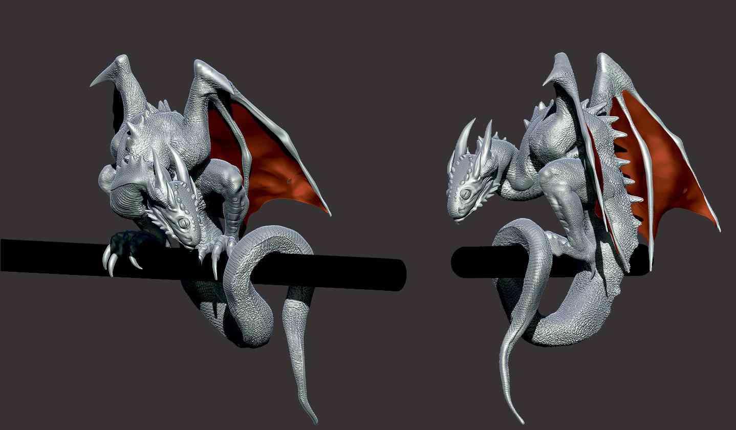 DGp3 Angelus   O filhote de dragão