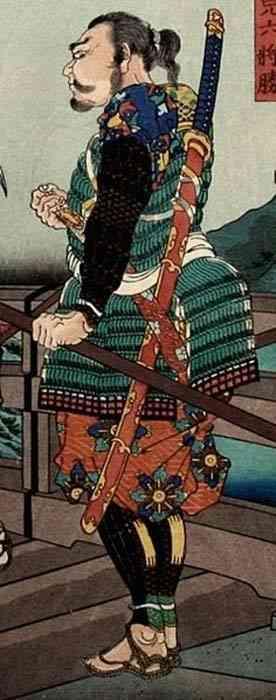 Japanese woodblock print Norimitsu Odachi: Quem foi o dono dessa enorme espada japonesa do século 15?