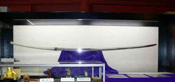 This Nodachi long sword Norimitsu Odachi: Quem foi o dono dessa enorme espada japonesa do século 15?