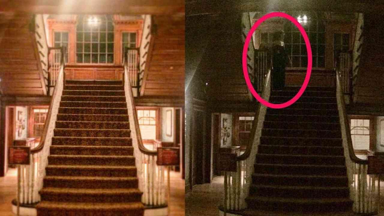 hq720 Espectro misterioso é registrado por câmera de segurança