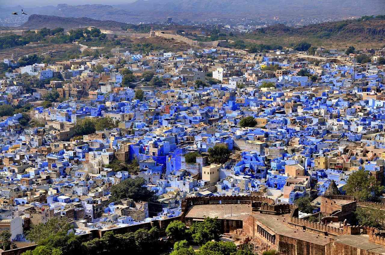 0 cb31f d9cdac67 orig A cidade azul da Índia