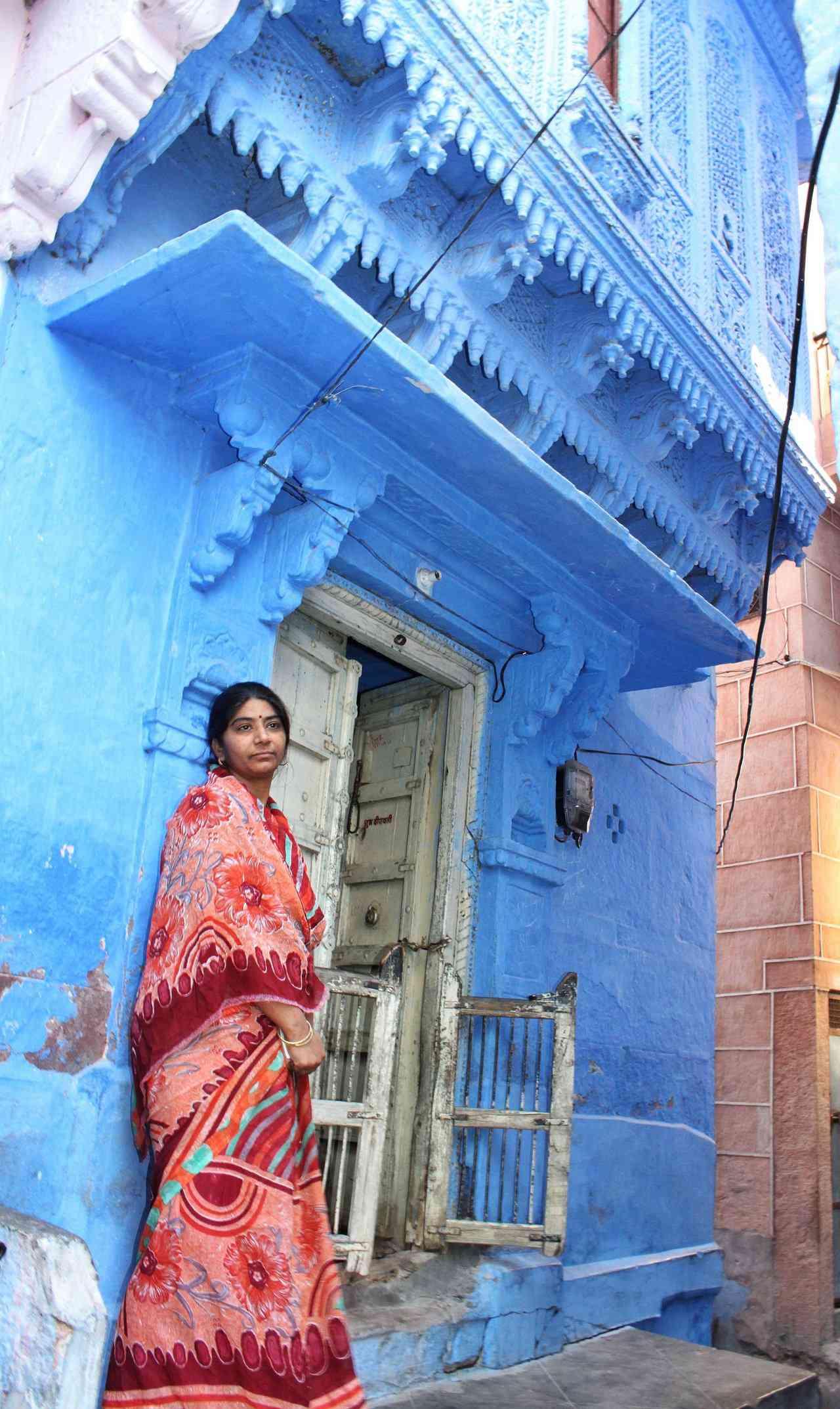 0 cb320 7681d5c4 orig A cidade azul da Índia