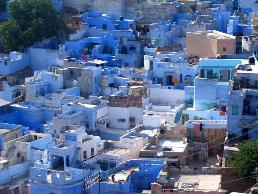 0 cb321 4050f70f orig A cidade azul da Índia