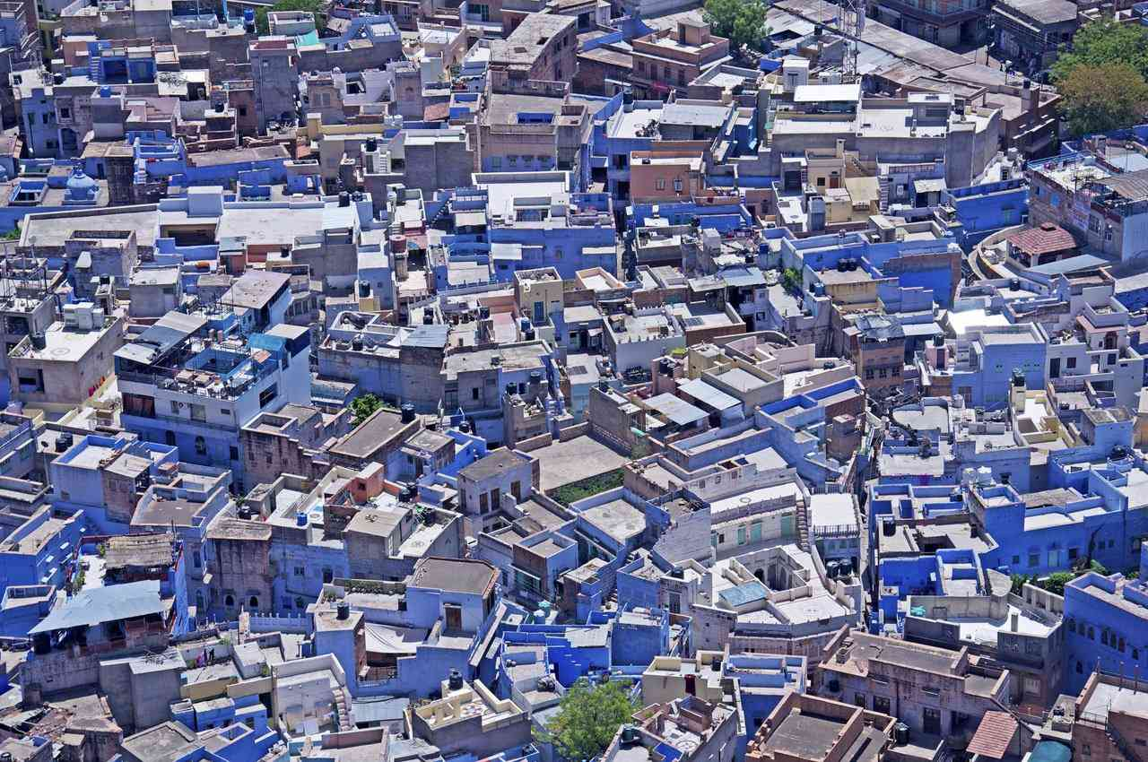 0 cb322 dd7b659 orig A cidade azul da Índia