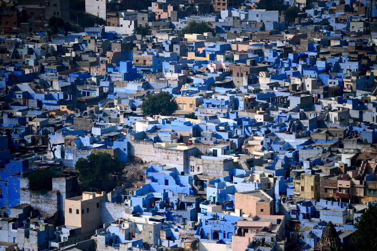 0 cb32e 9d5ee6bb orig A cidade azul da Índia