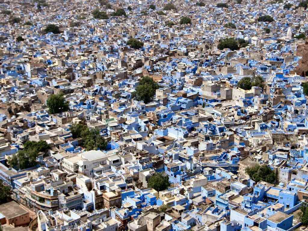 0 cb334 5d3c5105 orig A cidade azul da Índia