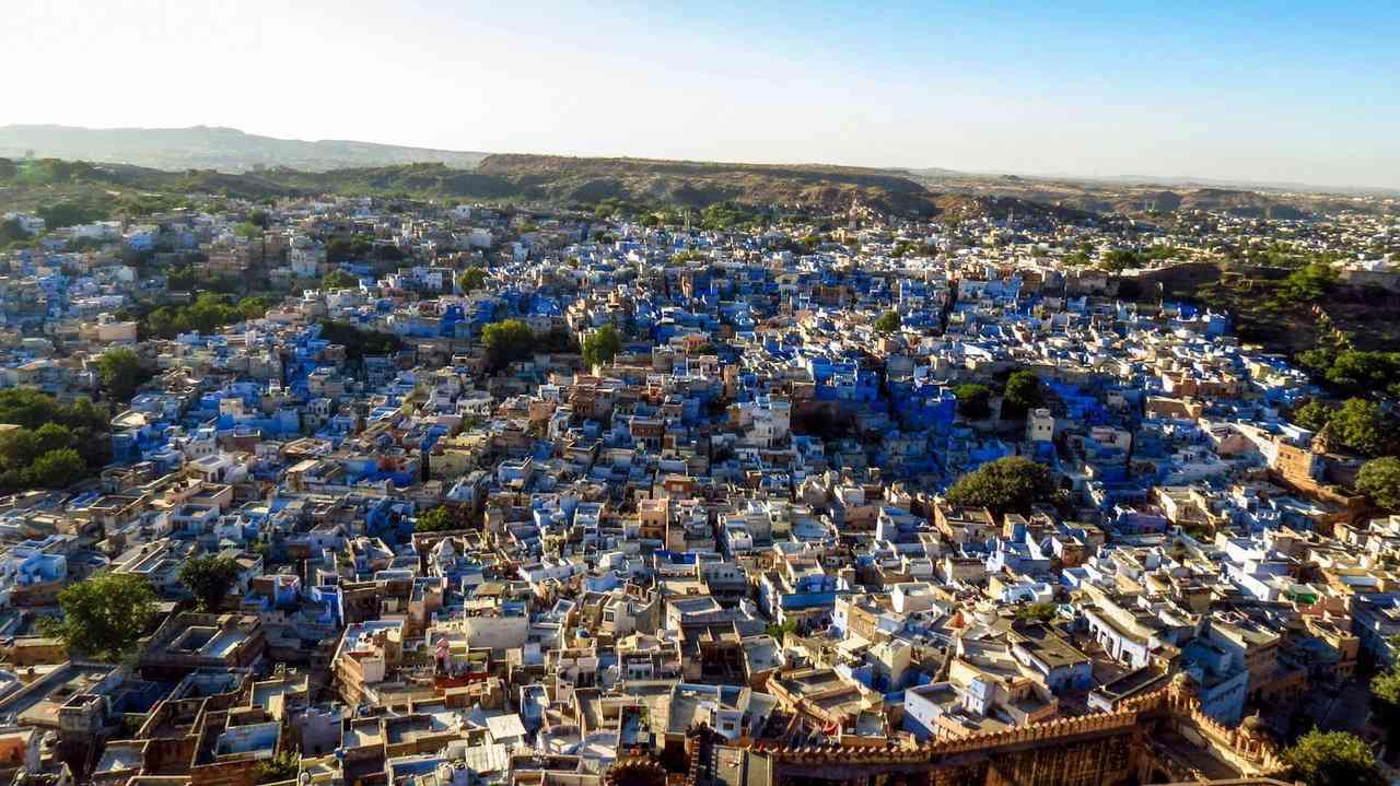 0 cb338 b3eca32c orig A cidade azul da Índia