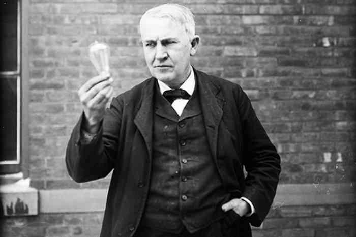 Thomas Edison Edison não inventou a lâmpada