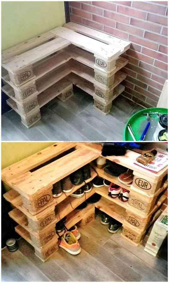 646cc441bb5502060325de133f471b38 Ideias sensacionais para fazer com pallets e caixas de madeira velha