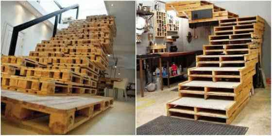 Palets Ideias sensacionais para fazer com pallets e caixas de madeira velha