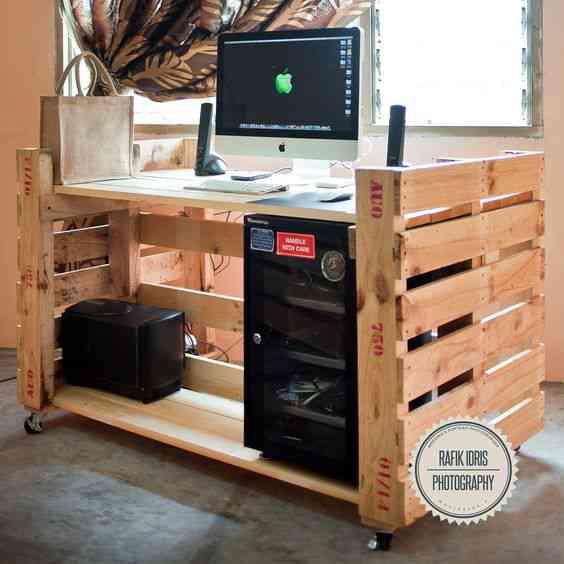 ab5dec1df296c64e55f7bca2109d3d6f Ideias sensacionais para fazer com pallets e caixas de madeira velha