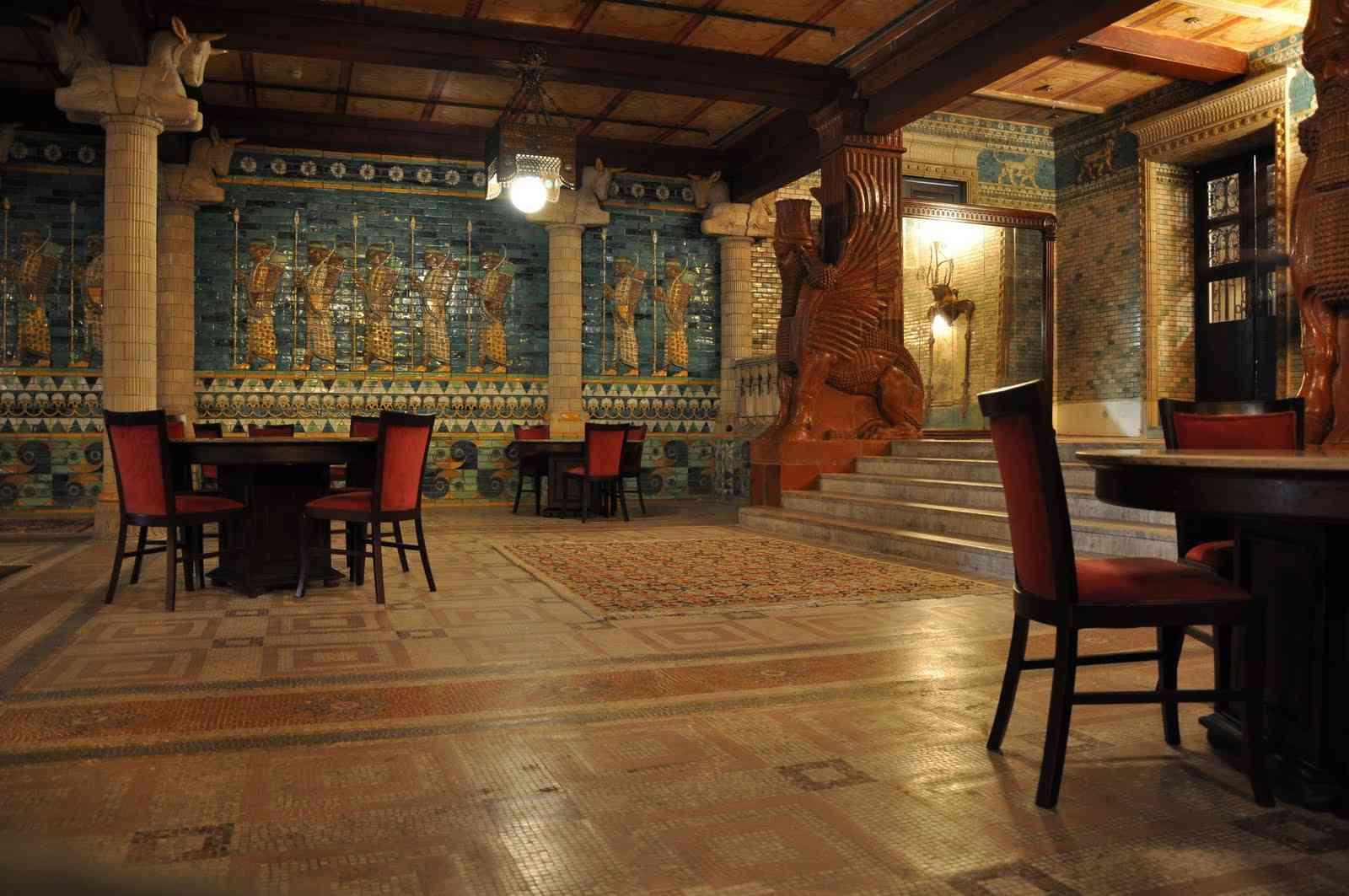 Salão Babilônia O curioso salão secreto do Theatro Municipal
