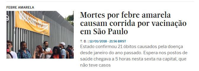 Notícias sobre Febre amarela EL PAÍS Brasil A saga do bebê diabo