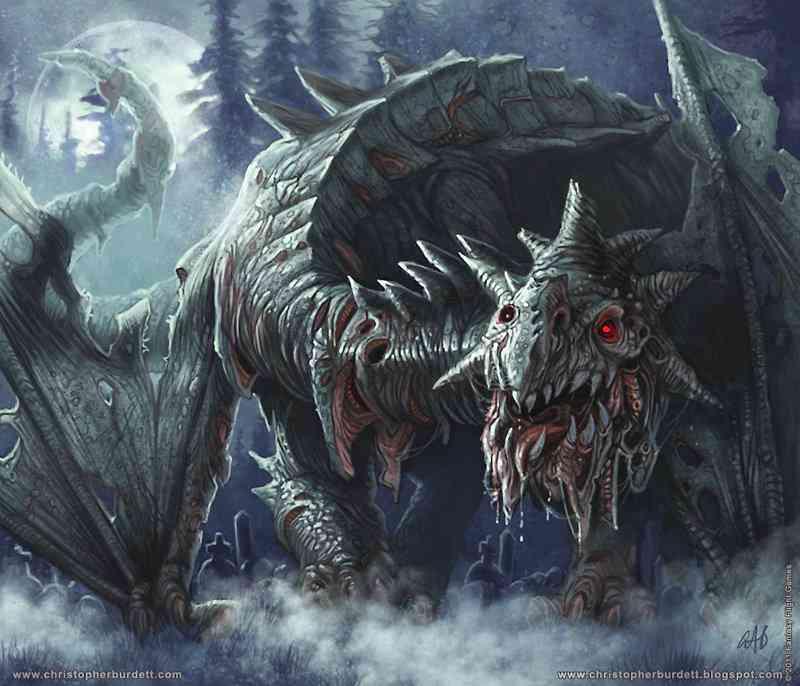 02 The Dragons Zombie Dragon Ultra gump blaster mega pack ultimate post de monstros 6
