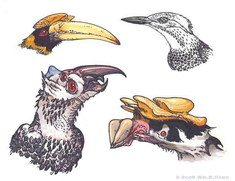 2 Bird Inspired Creatures Ultra gump blaster mega pack ultimate post de monstros 6