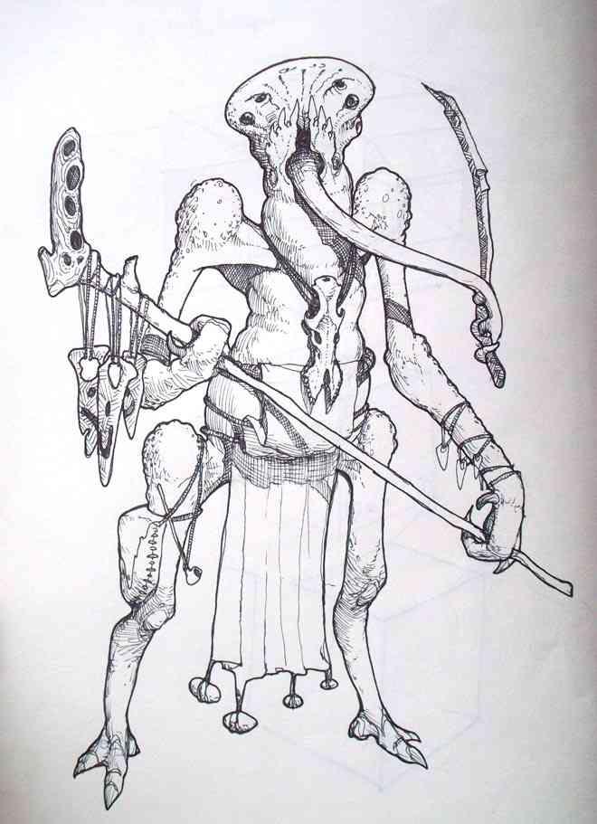 275 alien shaman Ultra gump blaster mega pack ultimate post de monstros 6