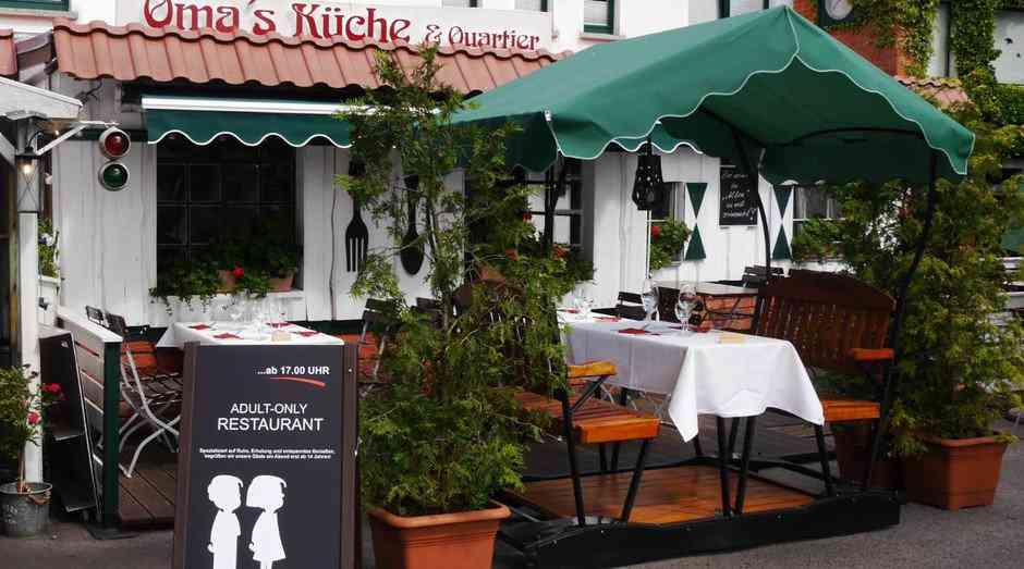 7.bild  Absurdo: Restaurante proíbe entrada de crianças!