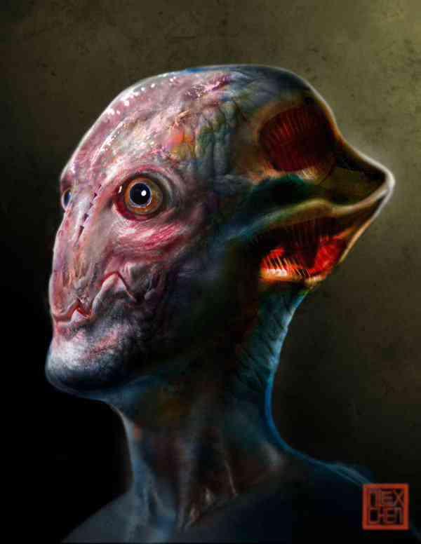 Alien Head Ultra gump blaster mega pack ultimate post de monstros 6