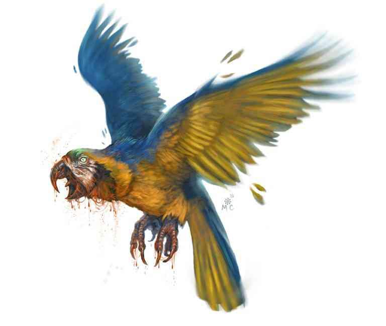 Angry Parrot Ultra gump blaster mega pack ultimate post de monstros 6