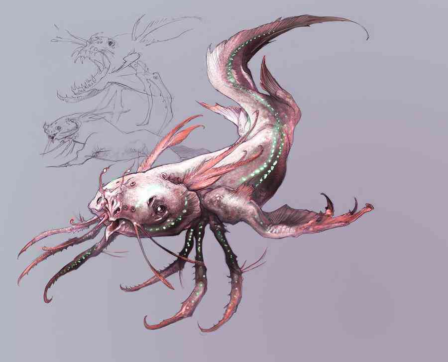 Axolotl Thing small Ultra gump blaster mega pack ultimate post de monstros  5