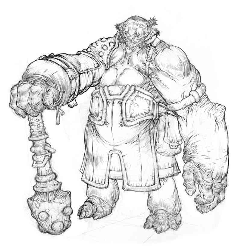 BigGuy drawing vrams Ultra gump blaster mega pack ultimate post de monstros  5