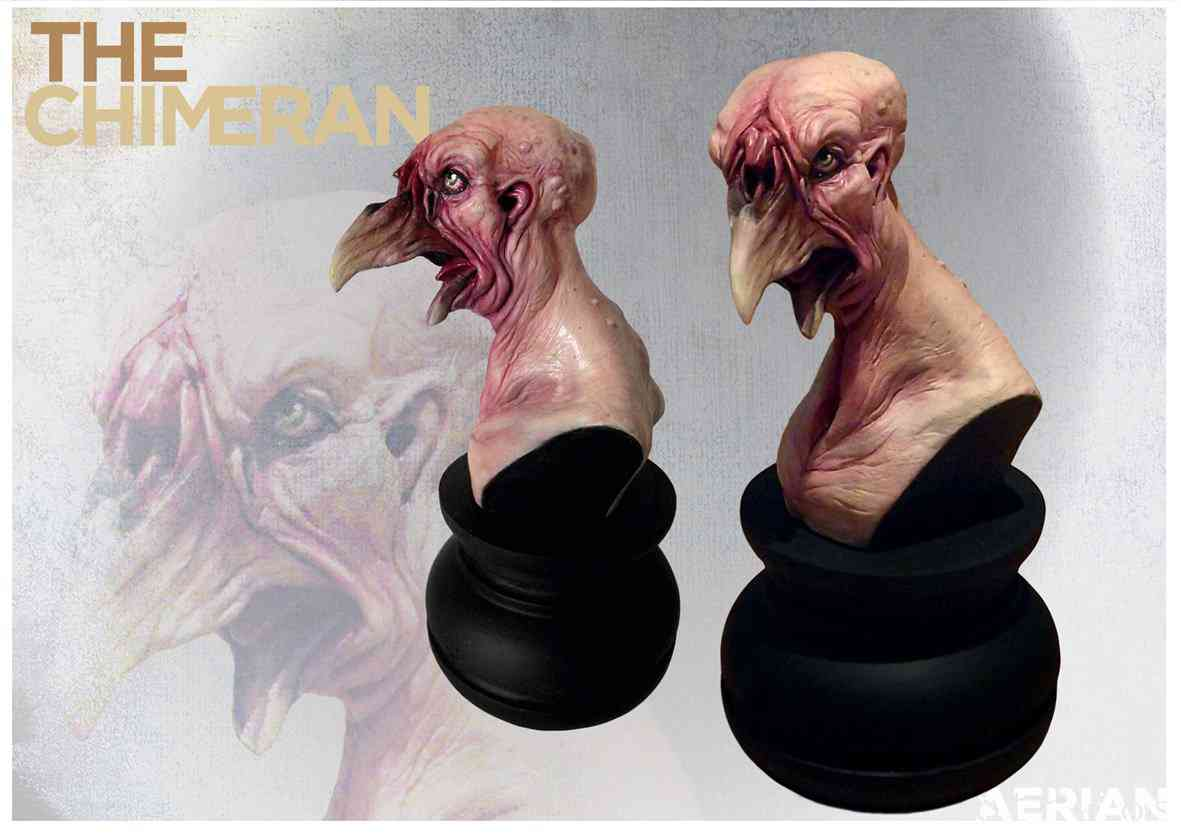 BirdChimeran finishedWeb Ultra gump blaster mega pack ultimate post de monstros  5