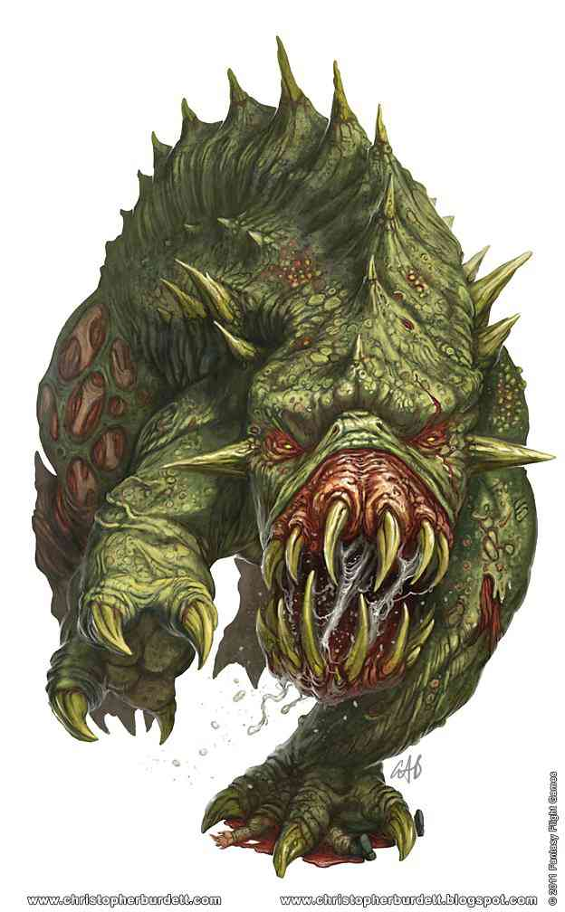 Black Crusade Giant Spined Chaos Beast Ultra gump blaster mega pack ultimate post de monstros  5